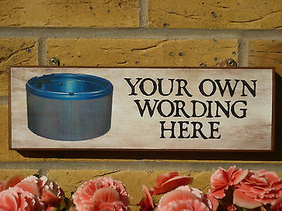 Bespoke Hot Tub Signs Whirlpool Jacuzzi Fun Signs Funny Wooden Sign Own Wording • 14.80£