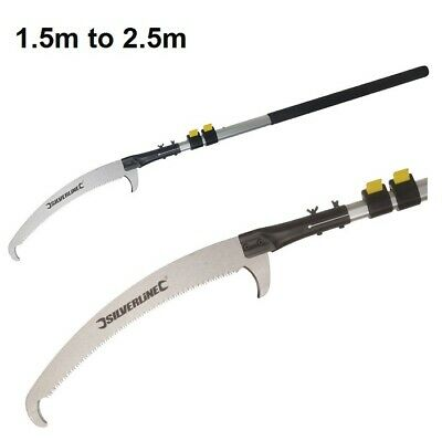 £38.39 • Buy Silverline Telescopic Extendable Tree Branch Pruning Long Reach Pole Saw