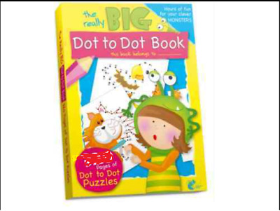 £2.99 • Buy Dot To Dot Book Pages A4 Children/kids Colouring New