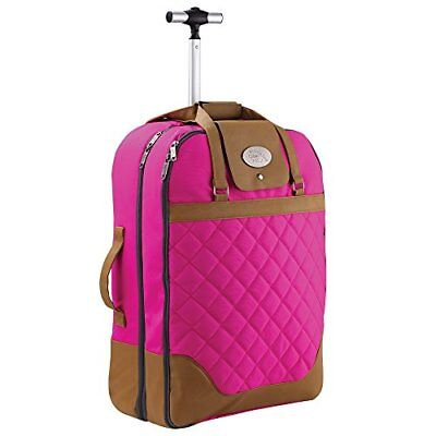 Cabin Max Monaco Dress & Suite Carrier Hand Luggage Trolley Suitcase 55x40x20cm • 60.79£