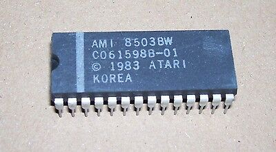 NEW Atari Computer 400 800 XL 130 XE Operating System Rom IC Chip C061598B-01 • 2.99£