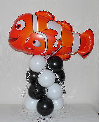 Disney-   Finding Nemo  -  Birthday  -  Foil Balloon Display - Table Centrepiece • 5.99£