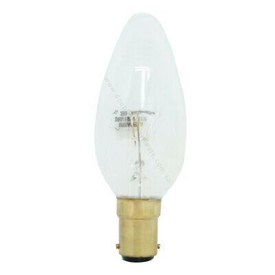 AU15.30 • Buy Mirabella Incandesce Candle Light Bulb SBC B15 240V 60W Clear Dimmable 316030
