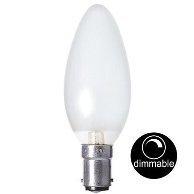 AU14.90 • Buy Luslite Incandescent Candle Light Bulb SBC B15 240V 60W Pearl Dimmable 000522