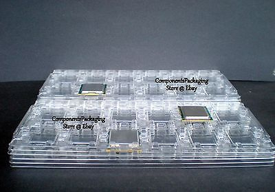 $ CDN29.04 • Buy CPU Tray For LGA1366 Xeon & Core I7 Processor - Anti Static - Qty 4 Fits 48 CPUs