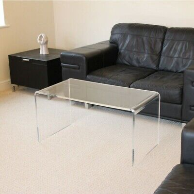 £167.95 • Buy Hygienic Easy Clean Coffee Table Clear Acrylic Plastic Coffee Table