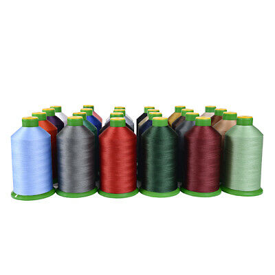 £12.99 • Buy Somabond 40s Bonded Nylon Heavy Duty Sewing Thread Upholstery Leather 27 Colours