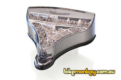 AU139.95 • Buy Yamaha R1 2009-2014 Integrated LED Tail Light In Clear Lens. R1 Tail Light LED