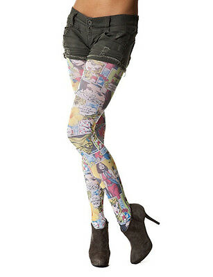 £7.50 • Buy Comic Book In Colour Printed Tights