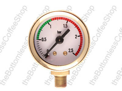 Pressure Gauge For La Pavoni Coffee Machine Maker Gold Plated • 24.99£