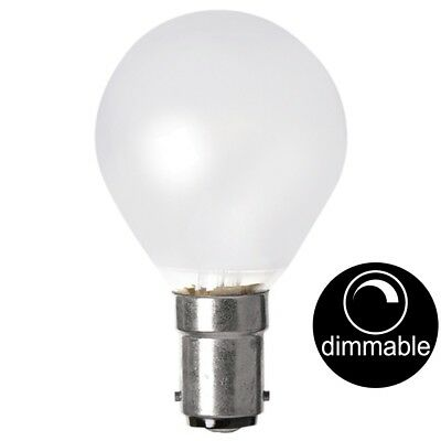 AU12.20 • Buy LUSION Halogen Fancy Round Light Bulb SBC B15 240V 40W Pearl Dimmable 30215