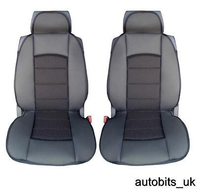 PREMIUM BLACK CUSHION PADDED Seat Covers Cushion FIAT DUCATO LUXURY MOTORHOME • 19.99£