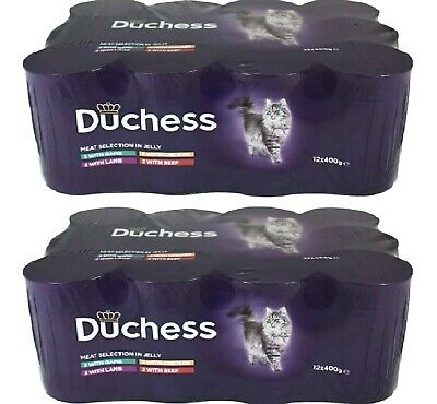 £20.99 • Buy DUCHESS SELECTION CAT X24 - 400g (12pack X2) - Tinned Pet Food Wet Can Bp Feed