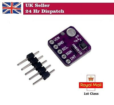 GY-3110 MAG3110 Triple Axis Magnetometer Breakout For Arduino • 6.09£