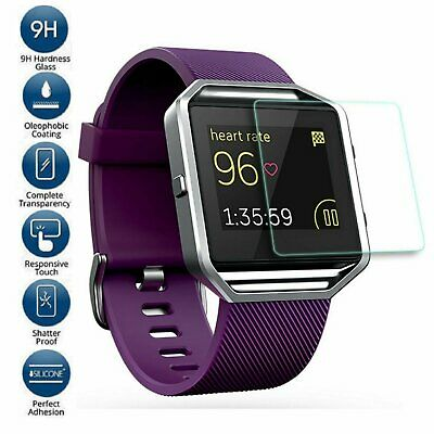 AU3.12 • Buy Premium Tempered Glass Screen Protector Guard For Fitbit Blaze Smart Watch