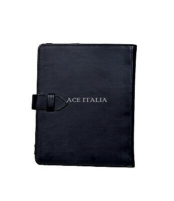 $35.41 • Buy IPAD 2 3 & 4 Black Soft Lambskin Luxury Real Genuine Leather Cover Case Stand