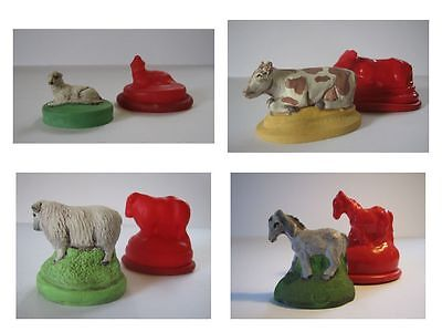 Nativity Animals Rubber Latex Moulds - Christmas 7-set • 20.99£