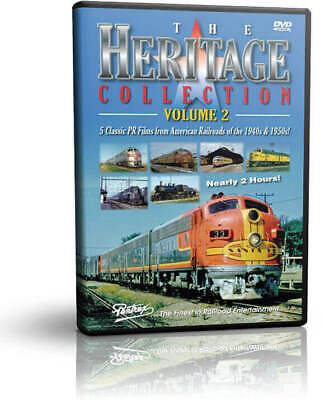 £18.40 • Buy Heritage Collection 2 Five Classic PR Films Of The 1940s & 1950s - Pentrex Train