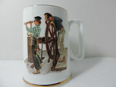 $ CDN10 • Buy River Pilot - Coffee Mug Inspired By The Art Of Norman Rockwell