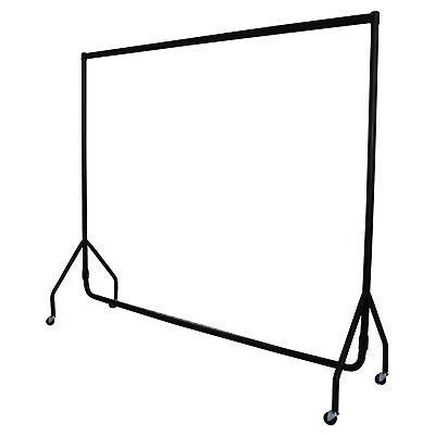 HEAVY DUTY 3ft,4ft,5ft,6ft GARMENT RAIL CLOTHES HOME HANGING RACK MARKET DISPLAY • 30.49£