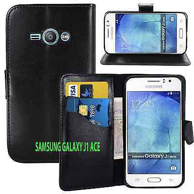 £1.89 • Buy BLACK WALLET CARD SLOT Stand GEL CASE FOR SAMSUNG GALAXY J1 ACE UK FREE DISPATCH
