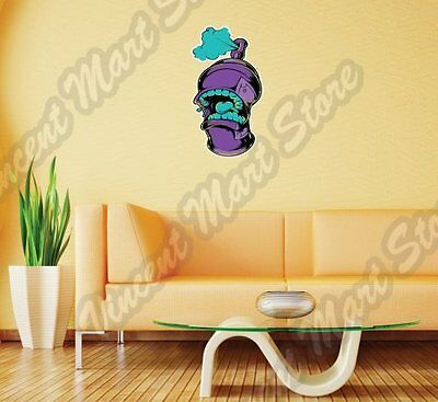 Spray Paint Can Graffiti Art Artist Wall Sticker Room Interior Decor 14 X25  • 14.46£