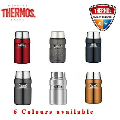 AU39.99 • Buy Thermos Stainless Steel VACUUM Insulated Food Jar Thermo Flask Container 710ml