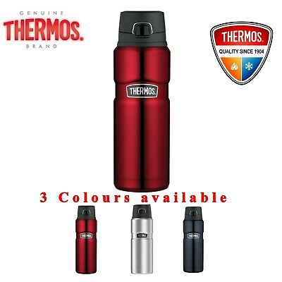 AU39.85 • Buy Thermos STAINLESS VACUUM Insulated Bottle Drink Thermo Flask 710ml Sweat Proof