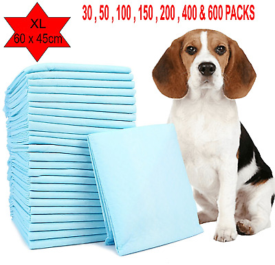 £11.95 • Buy Large Wee Wee Pads Heavy Duty Dog Puppy Training Pad Floor Toilet Mats 60 X 45cm