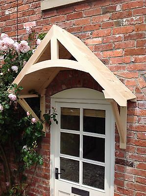 £220 • Buy Timber Front Door Canopy Porch,  CROSSMERE Hand Made Shropshire Awning Canopies