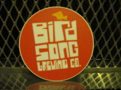 £3.63 • Buy BIRD SONG BREWING Co Charlotte NC ~ 2 3/4  ~ Beer Sign Sticker