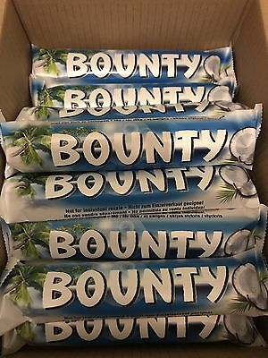 BOUNTY MILK CHOCOLATE Box Of 24 X 57g(standard Size) BarsLong Date.bargain Prize • 13.99£
