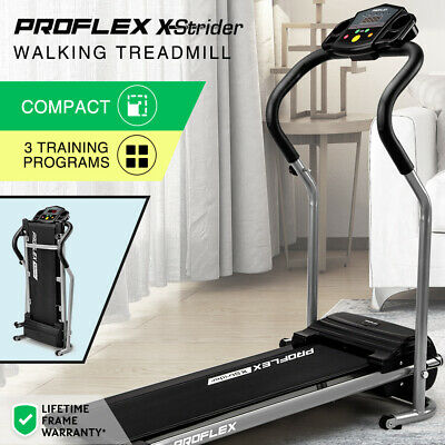 AU249 • Buy PROFLEX Electric Treadmill Compact Exercise Machine Walking Fitness Equipment