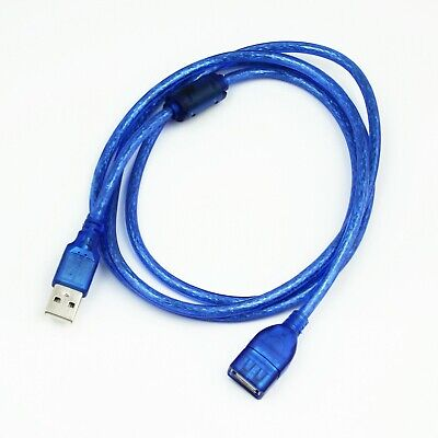 Quality 1.5m USB 2.0 Shielded A Male Jack To A Female A-A Extension Cable Lead  • 1.85£