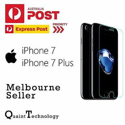 AU5.49 • Buy Genuine Tempered Glass/Film Screen Protector For Apple IPhone 7 7 Plus