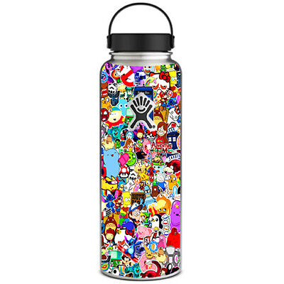 $13.88 • Buy Skin Decal For Hydro Flask 40 Oz Wide Mouth / Sticker Collage,sticker Pack