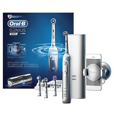 AU276.71 • Buy Oral-B Genius 9000 Electric Rechargeable Toothbrush Powered By Braun - White