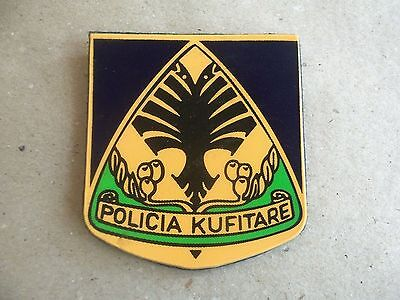 $ CDN18.71 • Buy Albania Original Patch Police BORDER POLICE -POLICIA KUFITARE -