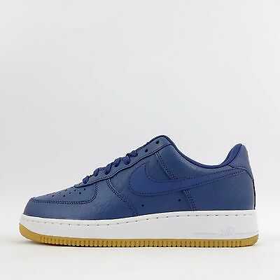 innovative design 03d1e 41c74 Nike Air Force 1 Bajo 07  LV8 Zapatillas De Hombre Azul blanco • 90.80