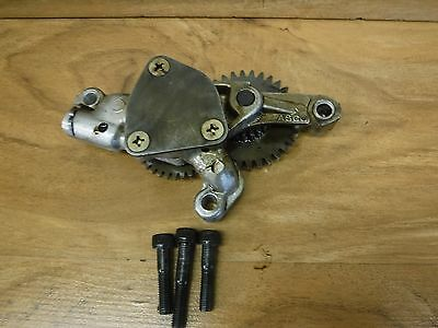 vintage gear oil pump