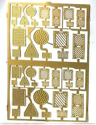 Drain Manhole Covers Etched Brass F73 UNPAINTED OO Scale Langley Models Kit • 8.81£