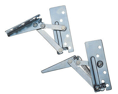 £10.95 • Buy Kitchen Cabinet Lift Up Flap Hinges X 1 Sprung Top Boxes Lift Up Doors