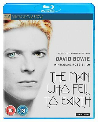 The Man Who Fell To Earth (40th Anniversary) (Blu-ray) David Bowie, Rip Torn • 13.99£