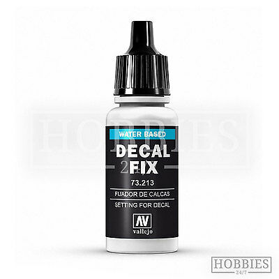 Vallejo Decal Fix Acrylic Resin Based Solution Model Air 73.213 • 3.39£