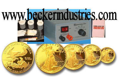 £130.01 • Buy 24k Gold/Chrome/silver/Rhodium Plating Machine, With 4oz 24K Gold Solution