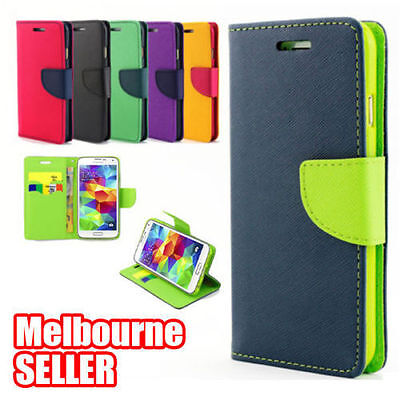 AU5.99 • Buy Samsung Galaxy S7 Edge S8 Plus Case NEW Flip Magnetic Credit Card Wallet Cover