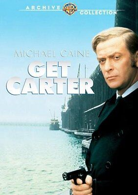 GET CARTER (1971 Michael Caine) - Region Free DVD - Sealed • 18.99£