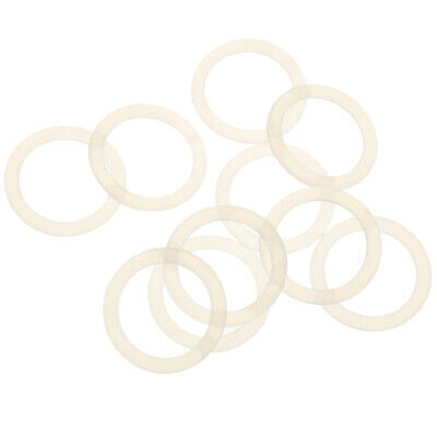 £2.67 • Buy 10x Clear Silicone O Rings Baby Pacifier/Dummy Ring For NUK/ Adapter