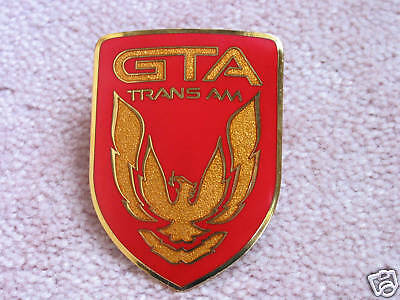$62.90 • Buy NEW 1987-90 Pontiac Trans Am GTA Nose Emblem (6 Colors)