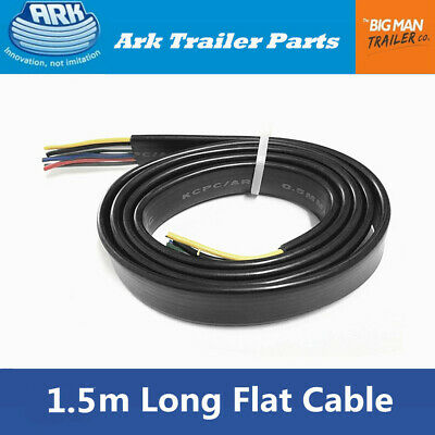 AU30.53 • Buy ARK 7 Core Flat Trailer Cable Wiring Car Wire Connect PVC Cover 1.5m Long UB